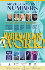 Careers in Math poster