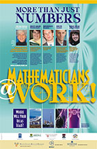 Mathematicians at Work poster